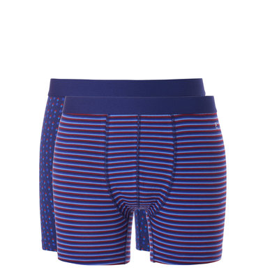 Ten Cate Boxers 2-Pack Coloured Stripe/Dots 31051 | 20629