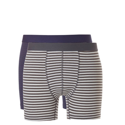 Ten Cate Boxers 2-Pack Grey Stripe/Small Stripe 31051 | 20628