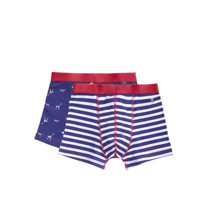 Ten Cate Boys 2-Pack Boxer Stripes 31105 | 21050