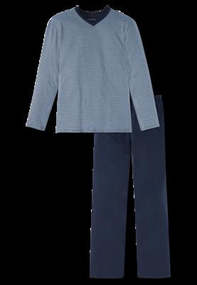 Schiesser Pyjama Indigo 166790-824 | 20962
