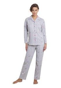 Hajo Pyjama Grey 45106 | 21212