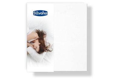 Silvana Kussensloop met schoudercontour Wit 584001   21217
