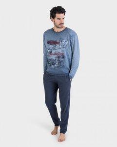 Massana Pyjama Azul Denim P691310   21553