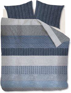 Beddinghouse Flanel Dekbedovertrek Evans Blue 21671