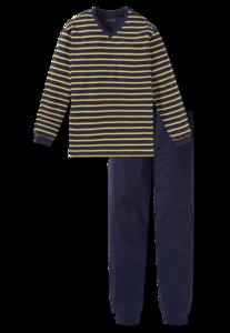 Schiesser Heren Pyjama Donkerblauw 168817 | 21906