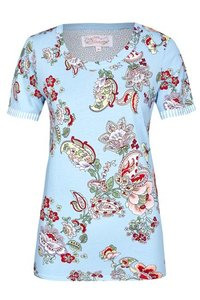 Ringella Bloomy T-Shirt Summer Sky 0251411 | 22023