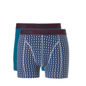 Ten Cate Men Fine Shorts 2-Pack Petrol Petrolprint 30884 | 21249