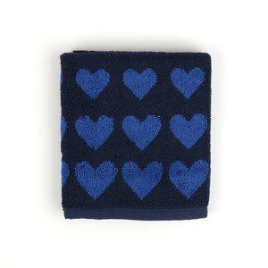 Bunzlau Castle Keukendoek Hearts Dark Blue 5315 | 22889