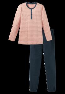 Schiesser Dames Pyjama 164461 603 Ligtenberg Linnen Lingerie