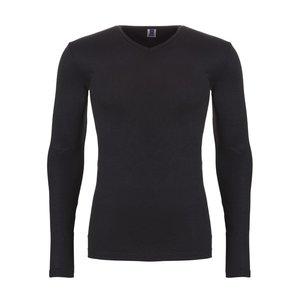 Ten Cate Men Thermo Long Sleeve V-Neck Black 30246 | 18229