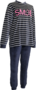Lunatex Pyjama Blauw/Fuchsia 5470   21320