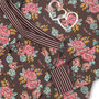 Charlie Choe Pyjama Lounge Set Bonne Nuit Roos 41B-33003C | 21486