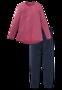 Schiesser Dames Pyjama Roze Rood 168851 | 21819