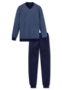 Schiesser Heren Pyjama Donkerblauw 168814 | 21905