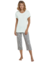 Schiesser Dames Pyjama Mint 161057 | 18893