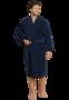 Schiesser Heren Badjas Donkerblauw 142106-803 | 20369