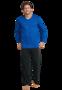 Schiesser Pyjama Royaal Blue 159622 | 21620