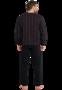 Schiesser Pyjama Zwart/Bordeaux 168127 | 21229