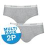 Sloggi Men Basic Midi 2-Pack Grijs 10020412 | 15736