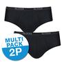 Sloggi Men Basic Midi 2-Pack Zwart 10020412 | 10357