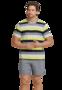 Schiesser Heren Shortama Multicolor 169684 | 22191