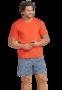 Schiesser Heren Shortama Chili Red 169688 | 22194