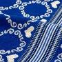 Bunzlau Castle Keukendoek Lace Blue 5313 | 22893