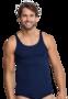 Schiesser Men Original Classics Feinripp Shirt 0/0 Navy 005120 | 340