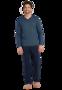 Schiesser Pyjama Dark Blue 171966   23347