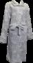Cocodream  Dames Badjas Fleece Zilvergrijs 696732 | 23724