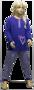 Lunatex Meisjes Pyjama Blauw/Roze 98086 | 24979