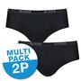 Sloggi Basic Midi 2-Pack Zwart 10020412 | 10357