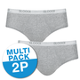 Sloggi Basic Midi 2-Pack Grijs 10020412 | 15736